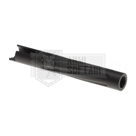 APS CANNA ESTERNA A SPIRALE TM HI-CAPA 5.1 FLUTED Outer Barrel NERA BLACK - APS