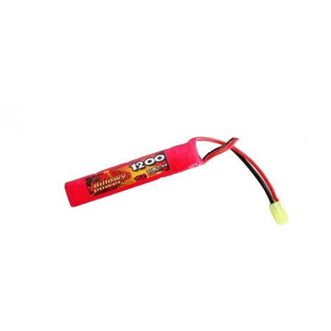 BILLOWY POWER BATTERIA LIPO 11.1 V X 1200 mHA 15C SHORT DA TUBO - BILLOWY POWER