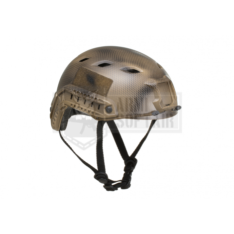 EMERSON ELMETTO HELMET FAST BJ ECO VERSION SNAKE CAMO SERPENTE - EMERSON