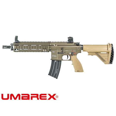 VFC FUCILE ELETTRICO ASG AEG M4 HECKLER & KOCH HK416 V2 CQB TAN - VFC VegaForceCompany