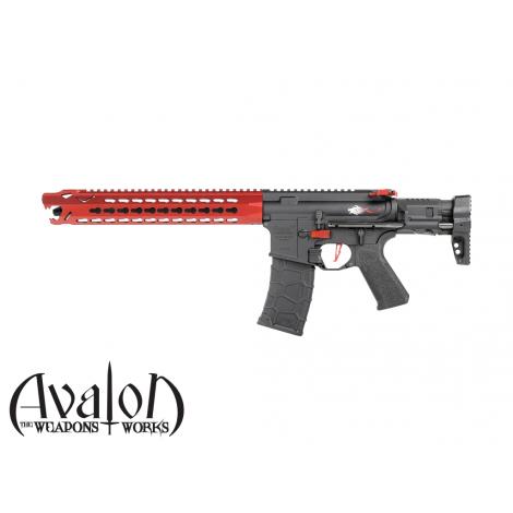 VFC FUCILE ELETTRICO ASG AEG M4 AVALON LEOPARD CARBINE (RED) NERO BLACK - VFC VegaForceCompany