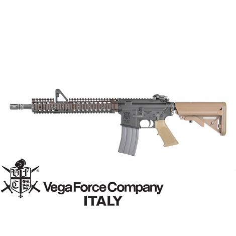 VFC FUCILE ELETTRICO ASG AEG M4 VR16 M4 FSP (TN) DANIEL DEFENCE TAN - VFC VegaForceCompany