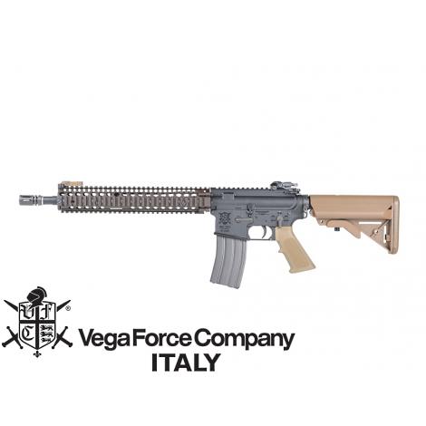 VFC FUCILE ELETTRICO ASG AEG M4 MK18 VR16 RIS II (TN) DANIEL DEFENCE TAN - VFC VegaForceCompany