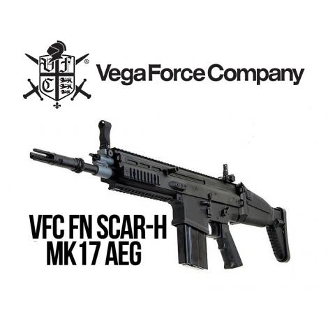 VFC FUCILE ELETTRICO ASG AEG SCAR H CQC FN NERO BLACK - VFC VegaForceCompany