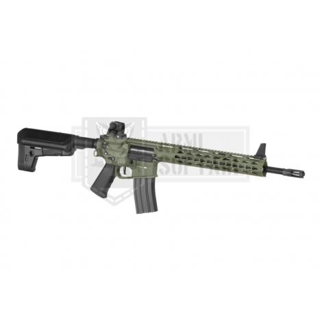 KRYTAC FUCILE ELETTRICO ASG AEG M4 TRIDENT MK2 SPR / PDW BUNDLE VERDE FOLIAGE GREEN - KRYTAC