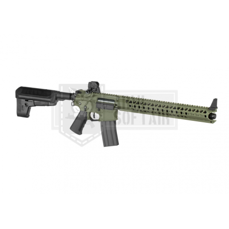KRYTAC FUCILE ELETTRICO ASG AEG M4 WAR SPORT LVOA - C VERDE FOLIAGE GREEN - KRYTAC