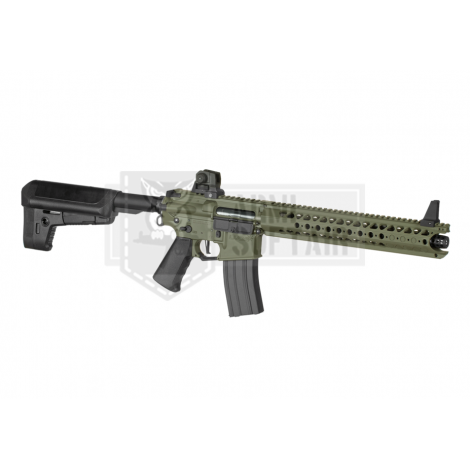 KRYTAC FUCILE ELETTRICO ASG AEG M4 WAR SPORT LVOA - S VERDE FOLIAGE GREEN - KRYTAC