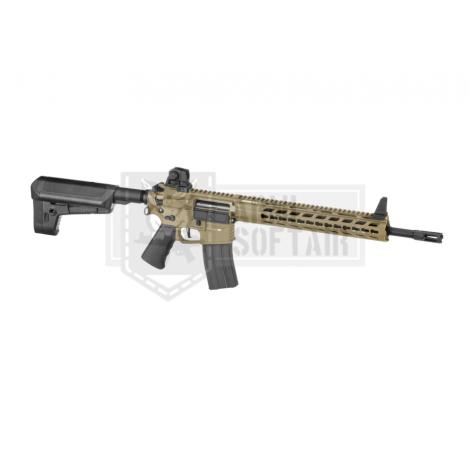KRYTAC FUCILE ELETTRICO ASG AEG M4 TRIDENT MK2 SPR TAN DE - KRYTAC