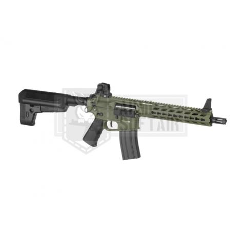 KRYTAC FUCILE ELETTRICO ASG AEG M4 TRIDENT MK2 CRB VERDE FOLIAGE GREEN - KRYTAC