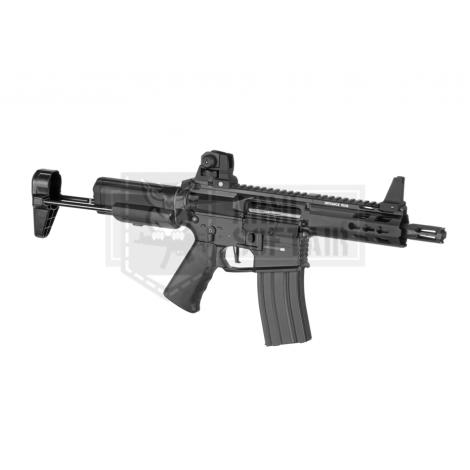 KRYTAC FUCILE ELETTRICO ASG AEG M4 TRIDENT MK2 PDW CQB NERO BLACK - KRYTAC