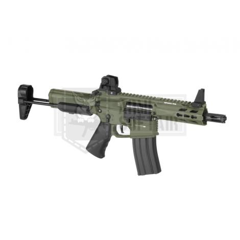 KRYTAC FUCILE ELETTRICO ASG AEG M4 TRIDENT MK2 PDW CQB VERDE FOLIAGE GREEN - KRYTAC