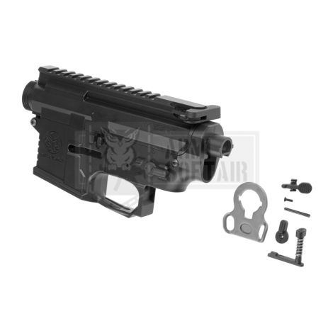 KRYTAC BODY COMPLETO IN METALLO M4 TRIDENT MK2 RECEIVER SET NERO BLACK - KRYTAC
