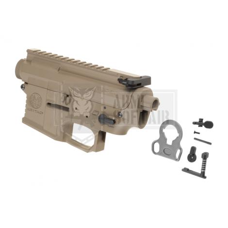 KRYTAC BODY COMPLETO IN METALLO M4 TRIDENT MK2 RECEIVER SET FDE TAN - KRYTAC