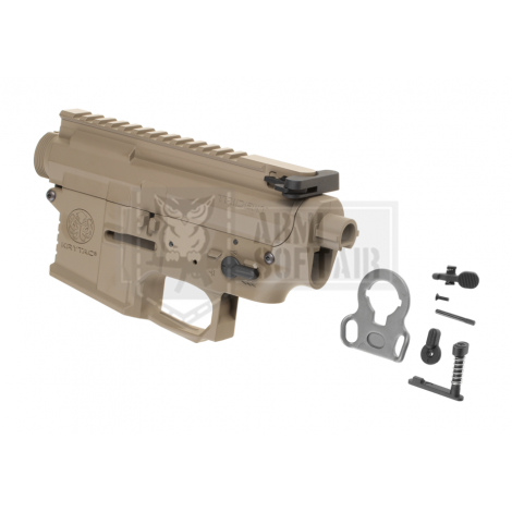 KRYTAC BODY COMPLETO IN METALLO M4 TRIDENT MK2 RECEIVER SET FDE TAN - KRYTAC