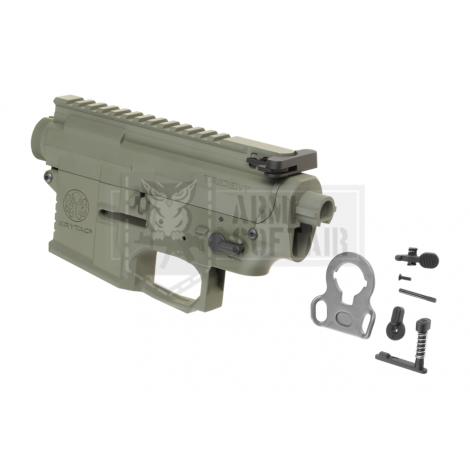KRYTAC BODY COMPLETO IN METALLO M4 TRIDENT MK2 RECEIVER SET VERDE FOLIAGE GREEN - KRYTAC