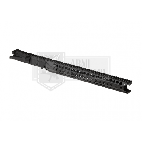 KRYTAC UPPER BODY IN METALLO CON RIS M4 LVOA RECEIVER SET NERO BLACK - KRYTAC