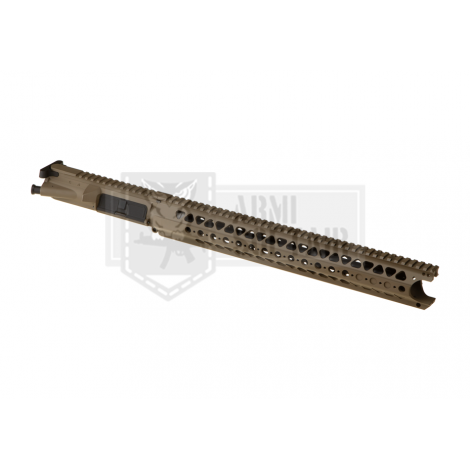 KRYTAC UPPER BODY IN METALLO CON RIS M4 LVOA RECEIVER SET TAN DE - KRYTAC