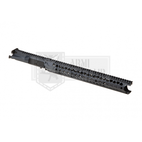 KRYTAC UPPER BODY IN METALLO CON RIS M4 LVOA RECEIVER SET GRIGIO GREY - KRYTAC