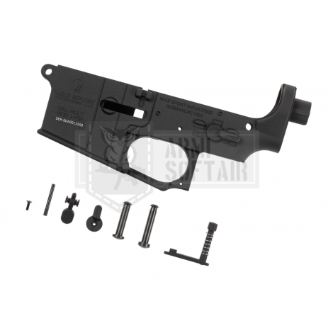 KRYTAC LOWER BODY IN METALLO M4 LVOA RECEIVER SET NERO BLACK - KRYTAC
