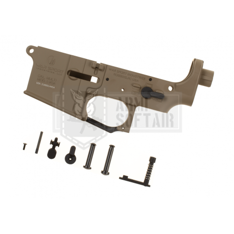 KRYTAC LOWER BODY IN METALLO M4 LVOA RECEIVER SET TAN DE - KRYTAC