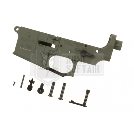 KRYTAC LOWER BODY IN METALLO M4 LVOA RECEIVER SET VERDE FOLIAGE GREEN - KRYTAC
