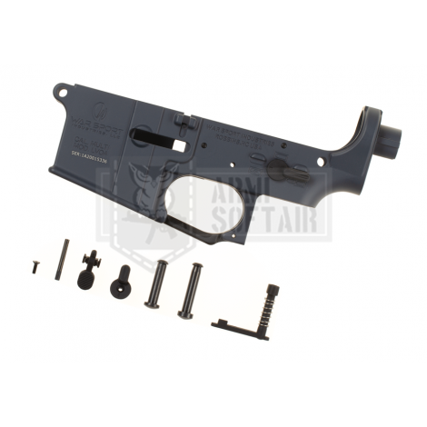 KRYTAC LOWER BODY IN METALLO M4 LVOA RECEIVER SET GRIGIO GREY - KRYTAC