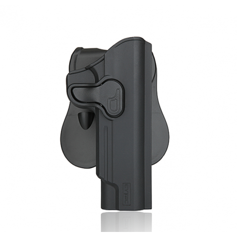CYTAC FONDINA IN POLIMERO DEFENDER HOLSTER HK USP / USP COMPACT NERA - CYTAC