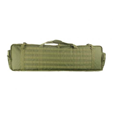 GFG SACCA BORSA PORTA FUCILI MITRAGLIATRICE MINIMI M249 IMBOTTITA 102 cm VERDE GREEN -