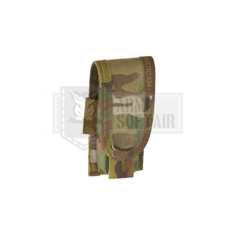 WARRIOR ASSAULT SYSTEM ELITE OPS TASCA CARICATORE FUCILE Single Open Mag Pouch M4 5.56mm MULTICAM MC