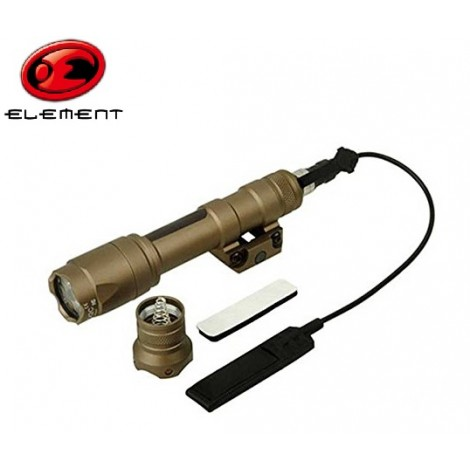 ELEMENT TORCIA LED DA FUCILE M600 C CON REMOTO TAN DE - ELEMENT