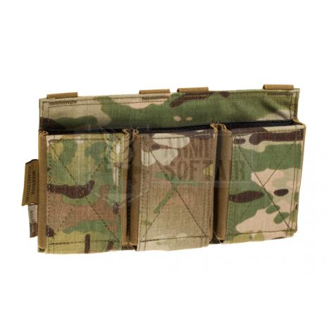 WARRIOR ASSAULT SYSTEM ELITE OPS TASCA CARICATORE TRIPLA Triple Elastic Mag Pouch MULTICAM MC - WARRIOR assault system