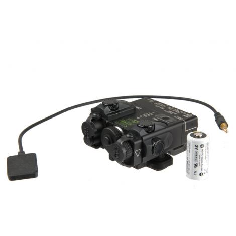 G&P DBAL A2 PEQ-15A anpeq Laser Designator Illuminator IR nero black - G&P