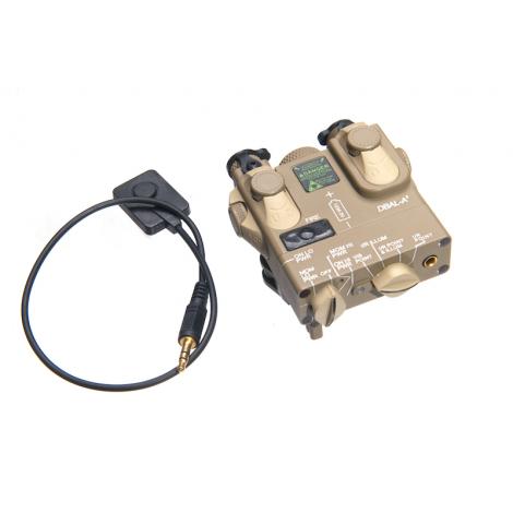 G&P DBAL A2 PEQ-15A anpeq Laser Designator Illuminator IR TAN - G&P