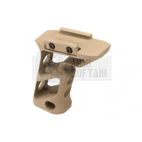 METAL IMPUGNATURA GRIP PICATINNY CNC ANGOLATA LUNGA DE TAN - METAL AIRSOFT