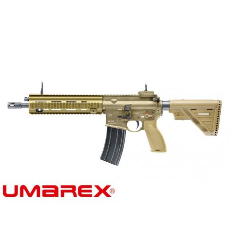 VFC FUCILE ELETTRICO ASG AEG M4 HECKLER & KOCH HK416 A5 RAL 8000 TAN FDE - VFC VegaForceCompany