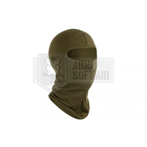 INVADER GEAR PASSAMONTAGNA TRASPIRANTE AD 1 BUCO SINGLE HOLE VERDE OD - INVADER GEAR