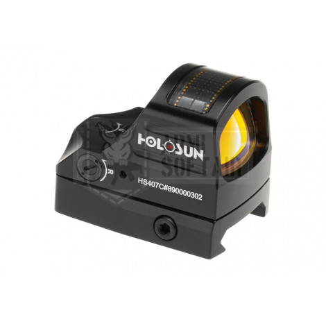 HOLOSUN PUNTO ROSSO PISTOLA MICRO RMR HS407C Red Dot Sight - HOLOSUN
