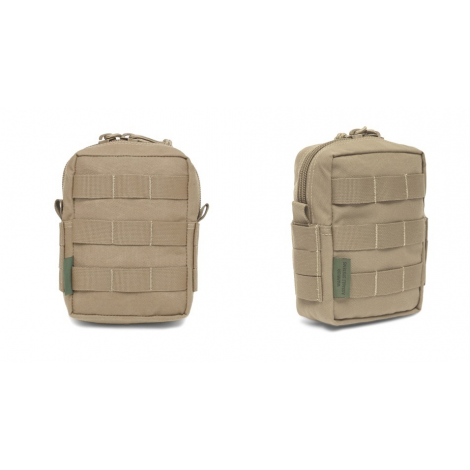 WARRIOR ASSAULT SYSTEM ELITE OPS TASCA SMALL VERTICAL UTILITY POUCH COYOTE TAN CB - WARRIOR assault system