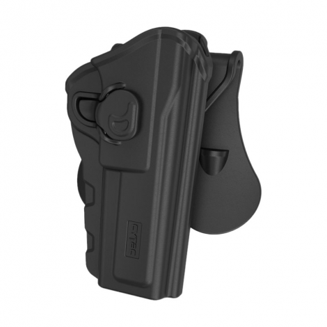 CYTAC FONDINA SGANCIO RAPIDO IN POLIMERO R - DEFENDER HOLSTER BROWNING HI-POWER 9MM - CYTAC