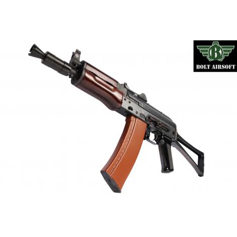 BOLT AK74 SU RINCULANTE Shock Recoil System BRSS EBB FULL METAL E VERO LEGNO - BOLT