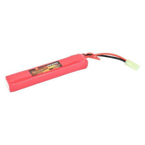 BILLOWY POWER BATTERIA LIPO 11.1 V X 1200 mHA 15C LARGE - BILLOWY POWER