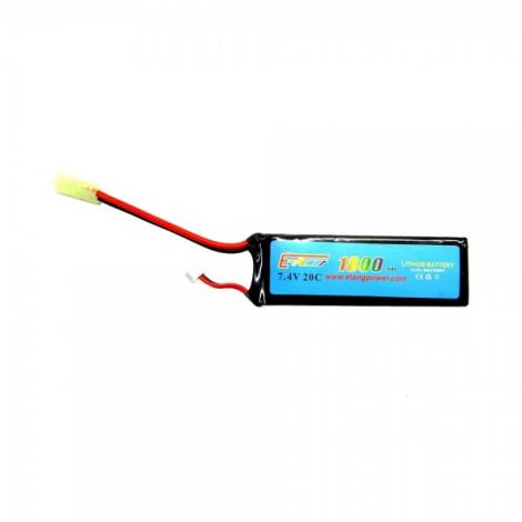 E-POWER BATTERIA LIPO 7.4 X 1800 20C RETTANGOLARE - E-POWER