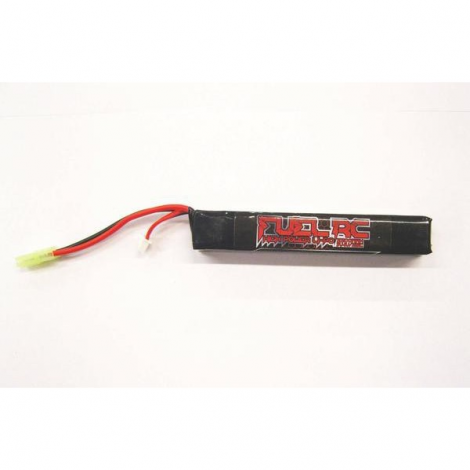FUEL BATTERIA LIPO 7.4 V X 2200 mHA 25C LUNGA TUBO - FUEL BATTERY