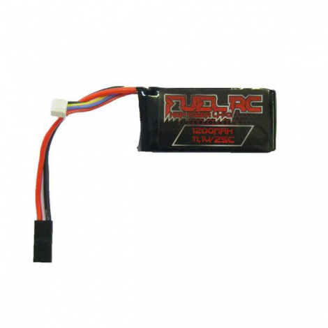 FUEL BATTERIA LIPO 11.1 V X 1200 mHA 25C PEQ - FUEL BATTERY