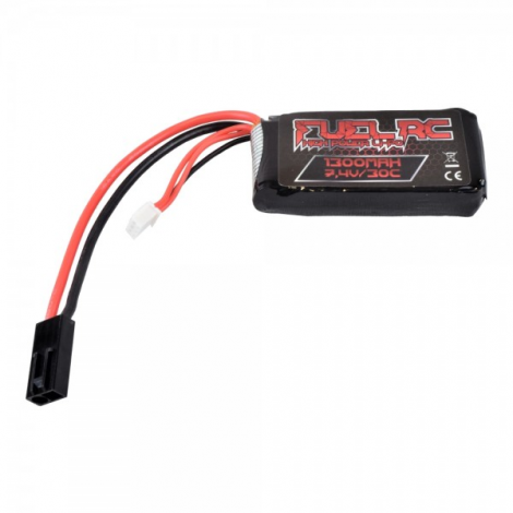 FUEL BATTERIA LIPO 7.4 V X 1300 mHA 30C AN PEQ - FUEL BATTERY