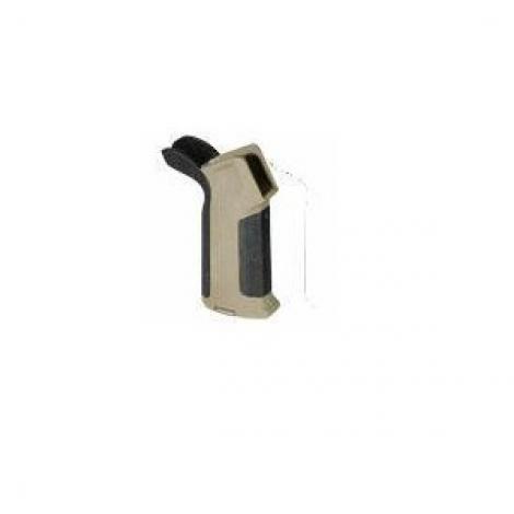 AMOEBA IMPUGNATURA GRIP MOTORE M4 M16 HONEY DUAL TONE TAN NERA BLACK - AMOEBA