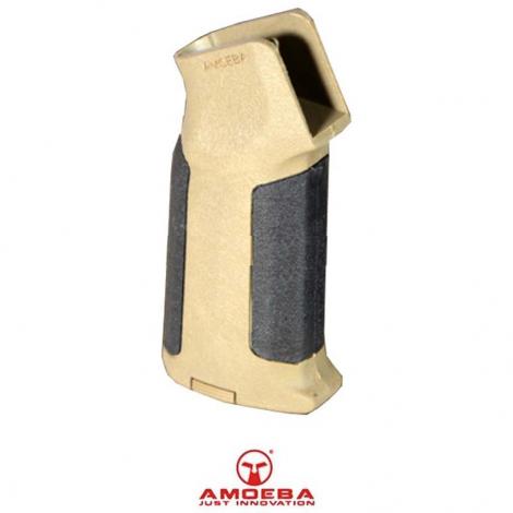 AMOEBA IMPUGNATURA GRIP MOTORE M4 M16 HONEY AR-GRIP06X DUAL TONE TAN NERA BLACK - AMOEBA