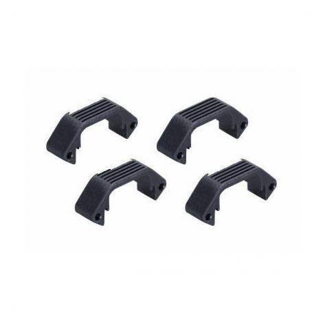 AMOEBA SET 4 PEZZI SMALL COVER PER HANDGUARD UNIT NERA BLACK - AMOEBA
