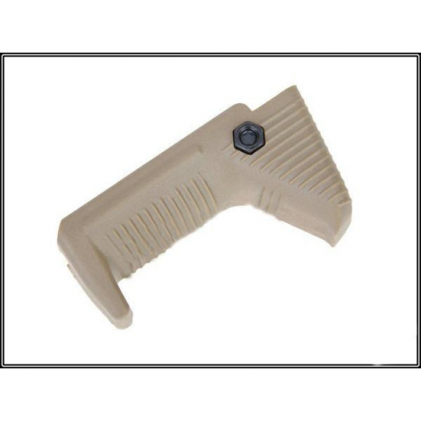 BIG DRAGON IMPUGNATURA GRIP TACTICAL HAND STOP/ANGLED AIRSOFT FOREGRIP TAN DESERT - BIG DRAGON