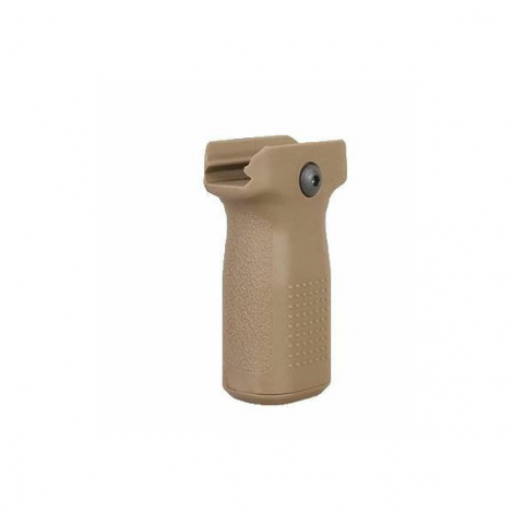 BIG DRAGON IMPUGNATURA GRIP EPF VERTICAL FOREGRIP TAN DESERT - BIG DRAGON